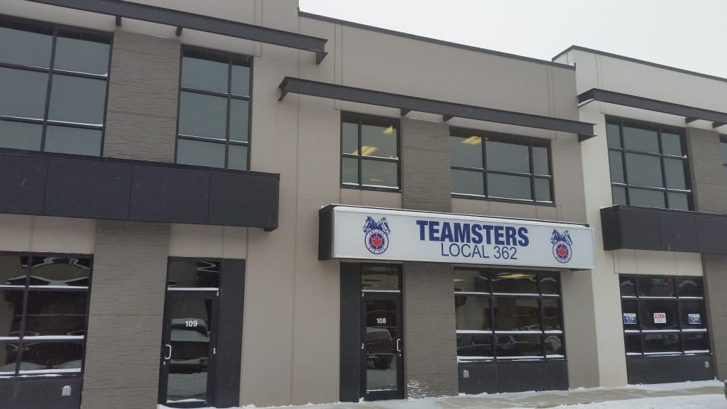 NOTICE TO MEDIA: Teamsters Local 362 organizing Amazon fulfillment centre in Nisku, media invited to attend